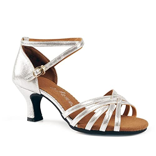 Baile Wxmddn De Adulto 5cm 5 LatinoPlata Zapatos cKTFJ1l