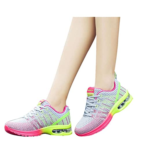 9f8121a91cbb Men's & Women Lightweight Sneakers Breathable Outdoor Mesh Casual Athletic  Sport Running Shoes