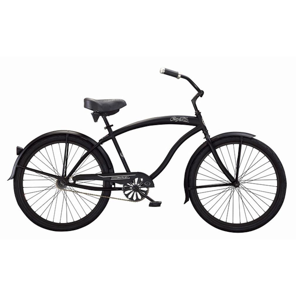 Micargi Bicycles Stealth 26 Matte Black Men's Beach Cruiser Bicycle by Micargi Bicycles B009FCCGG0