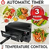 Future Home Electric Tandoor With Automatic Timer & Heat Controller (Black)