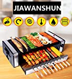 220V Korean BBQ Grill Electric Grill Smokeless Barbecue Household and Commercial Indoor Barbecue Roaster