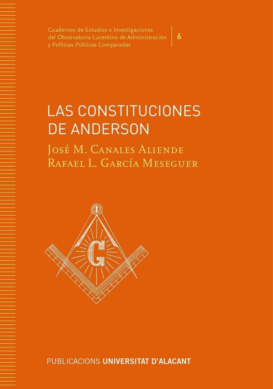 LAS CONSTITUCIONES DE ANDERSON Cuadernos de Estudios e ...