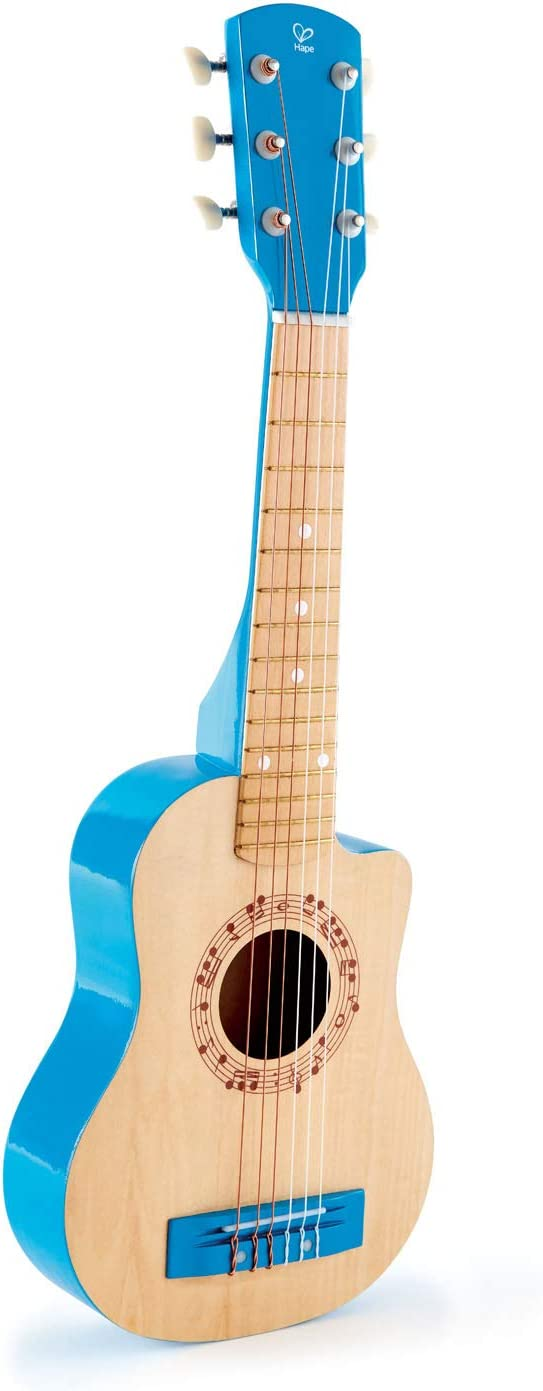Hape International- Blue Lagoon Guitarra Clásica, Multicolor, Talla única (E0601)