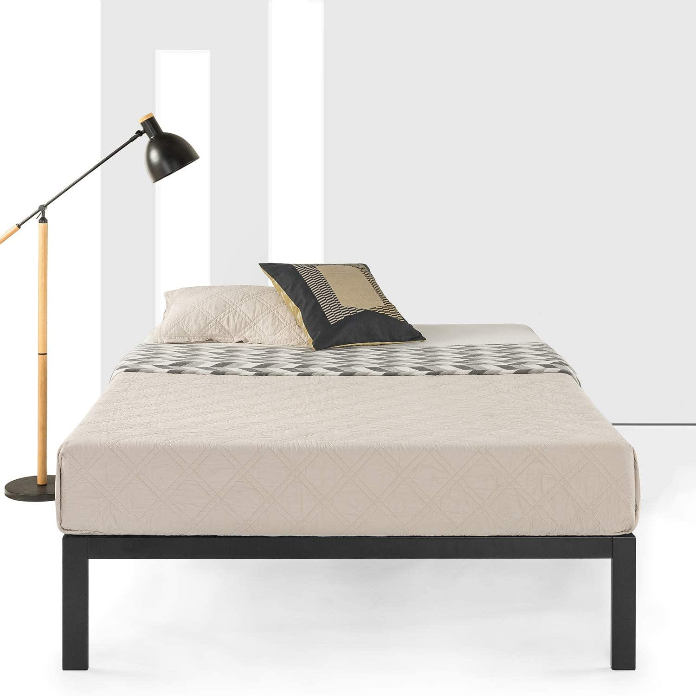 Best Price Mattress Queen Bed Frame – 14 Metal Platform Bed Frame w Heavy Duty Steel Slat Mattress Foundation No Box Spring Needed , Queen Size
