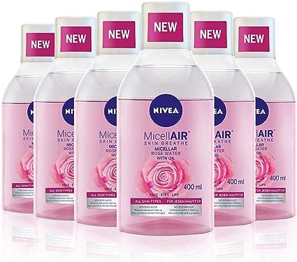 NIVEA MicellAIR Skin Breathe Agua Micelar con Aceite & Agua de ...