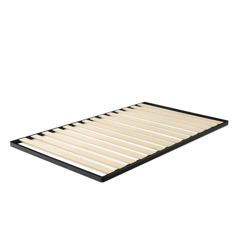 Zinus Deepak Easy Assembly Wood Slat 1.6 Inch Bunkie Board / Bed Slat Replacement, Twin (Renewed)