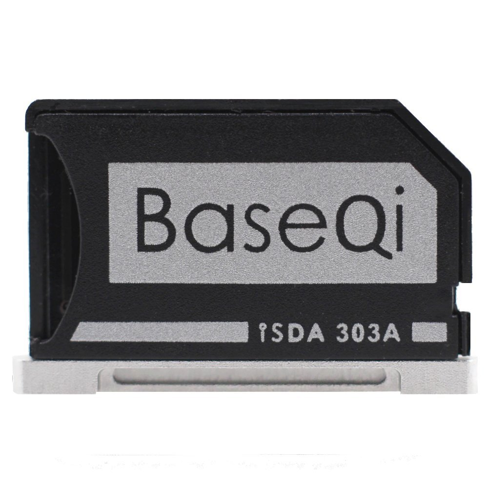 Baseqi, adattatore microSD per MacBook Pro Retina 13' adattatore microSD per MacBook Pro Retina 13 Qi Ji Electronics Co. Ltd FBA_ISDA303ASV