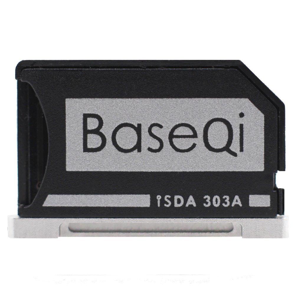 "BASEQI Aluminum microSD Adapter for MacBook Pro Retina 13"""