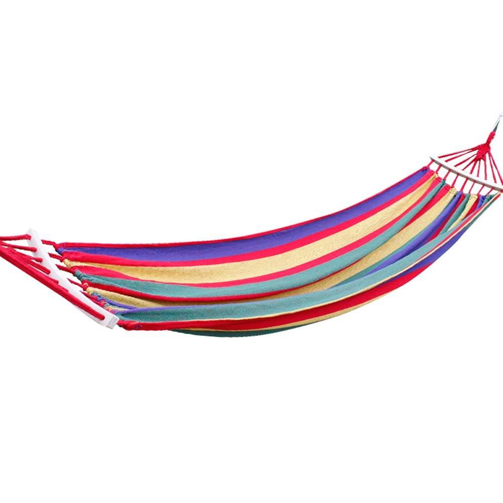 Powlance amaca campeggio portatile 300kg portanti tela da appendere letto Sleeping Swing (S)
