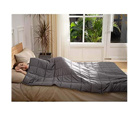 CuteKing Cooling Bamboo Weighted Blanket