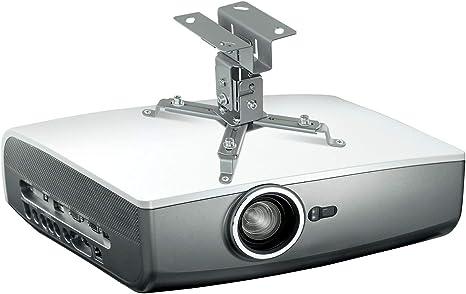 Amazon.com: Mount-It! Soporte para proyector de techo. corto ...