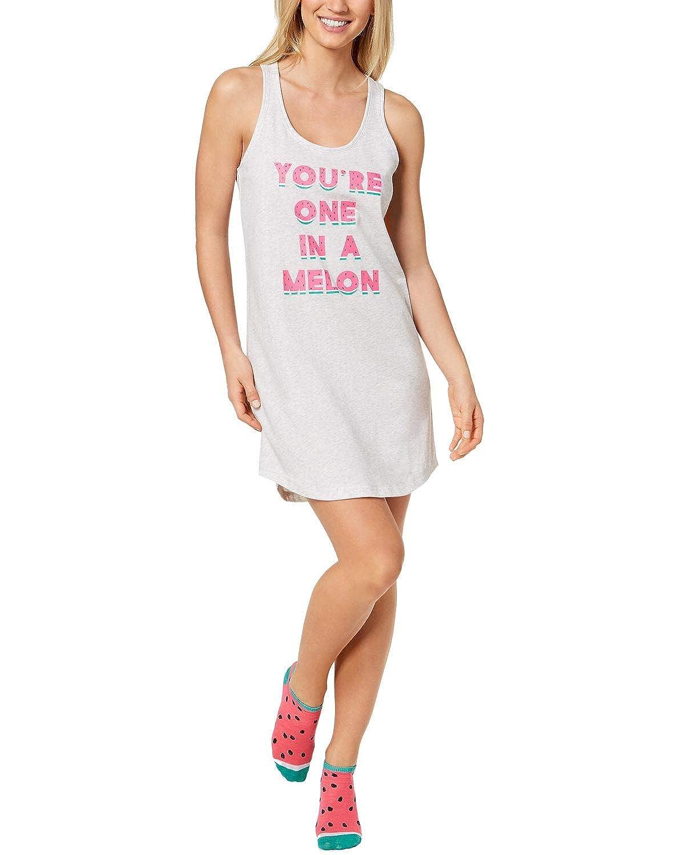 Jenni by Jennifer Moore Women/'s Graphic Sleepshirt and Socks Set