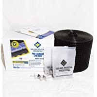 Solar Panel Pigeon Proofing Kit, 30M, PVC Coated Stainless Steel Mesh, 100 Fasteners, 6 Year Warranty, Bird proofing…