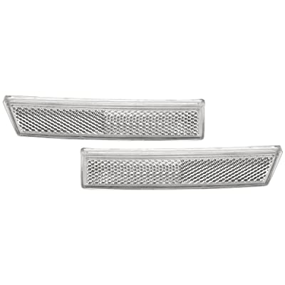 IPCW CWB-323 Chevy Astro/GMC Safari Front Bumper Reflector: Automotive