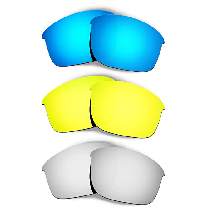 804b342567 Image Unavailable. Image not available for. Color  Hkuco Plus Mens  Replacement Lenses For Oakley Bottle Rocket ...