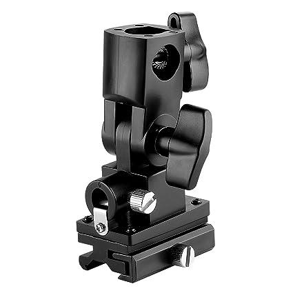 Neewer Flash Soporte giratorio de inclinación para Paraguas Tipo B para Canon 430EX II, 600EX