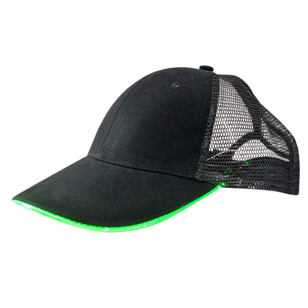 Brillanto Gorra de b/éisbol Ajustable de Nueva Unisex Adulto Transpirable Protecci/ón Solar Sombrero para Deportes al Aire Libre