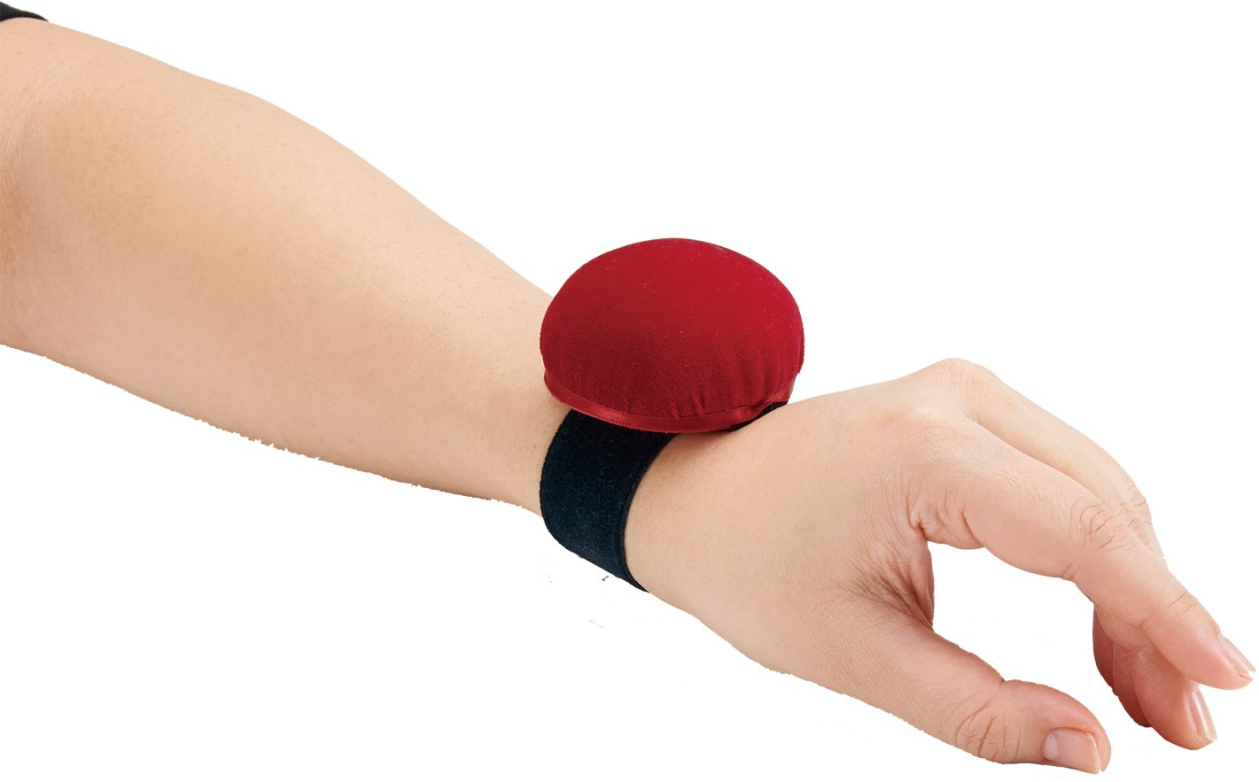 japan import Clover one-touch wrist pin cushion red