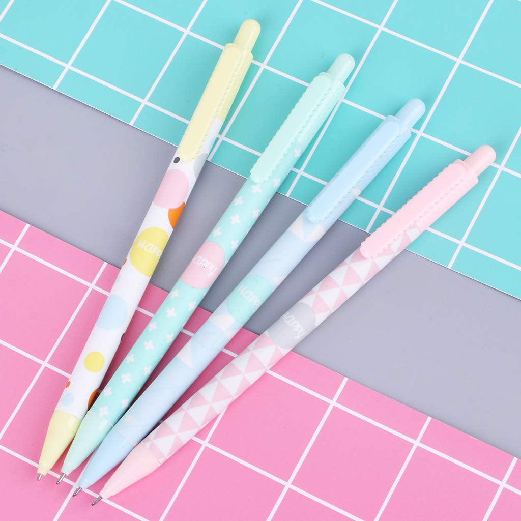 Dfsdmlp Mechanical Pencil,Sweet Automatic Drafting Pencil,0.5 Mm 2Pcs,Random Delivery