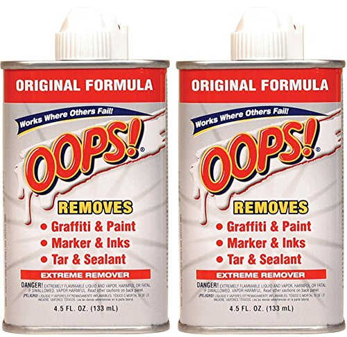 2-Pack OOPS! Extreme Stain Remover 4.5 fl.oz by Oops!