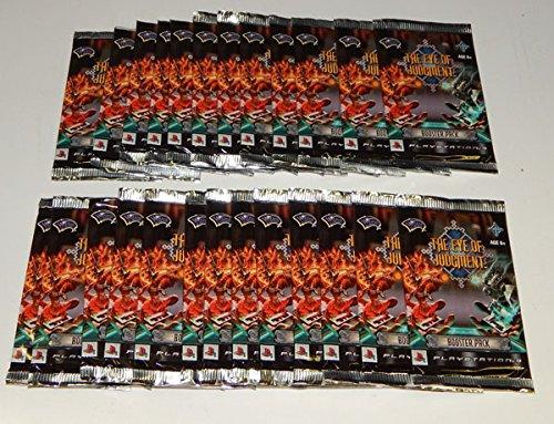 Lot of (25) Eye Of Judgment TCG Biolith Rebellion Set 1 Packs Playstation