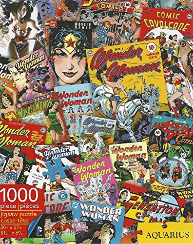 Aquarius 1000 Piece Jigsaw Puzzle Wonder Woman NEW