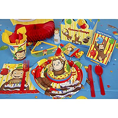 Curious George Bubble Party Favors, 4ct: Toys & Games