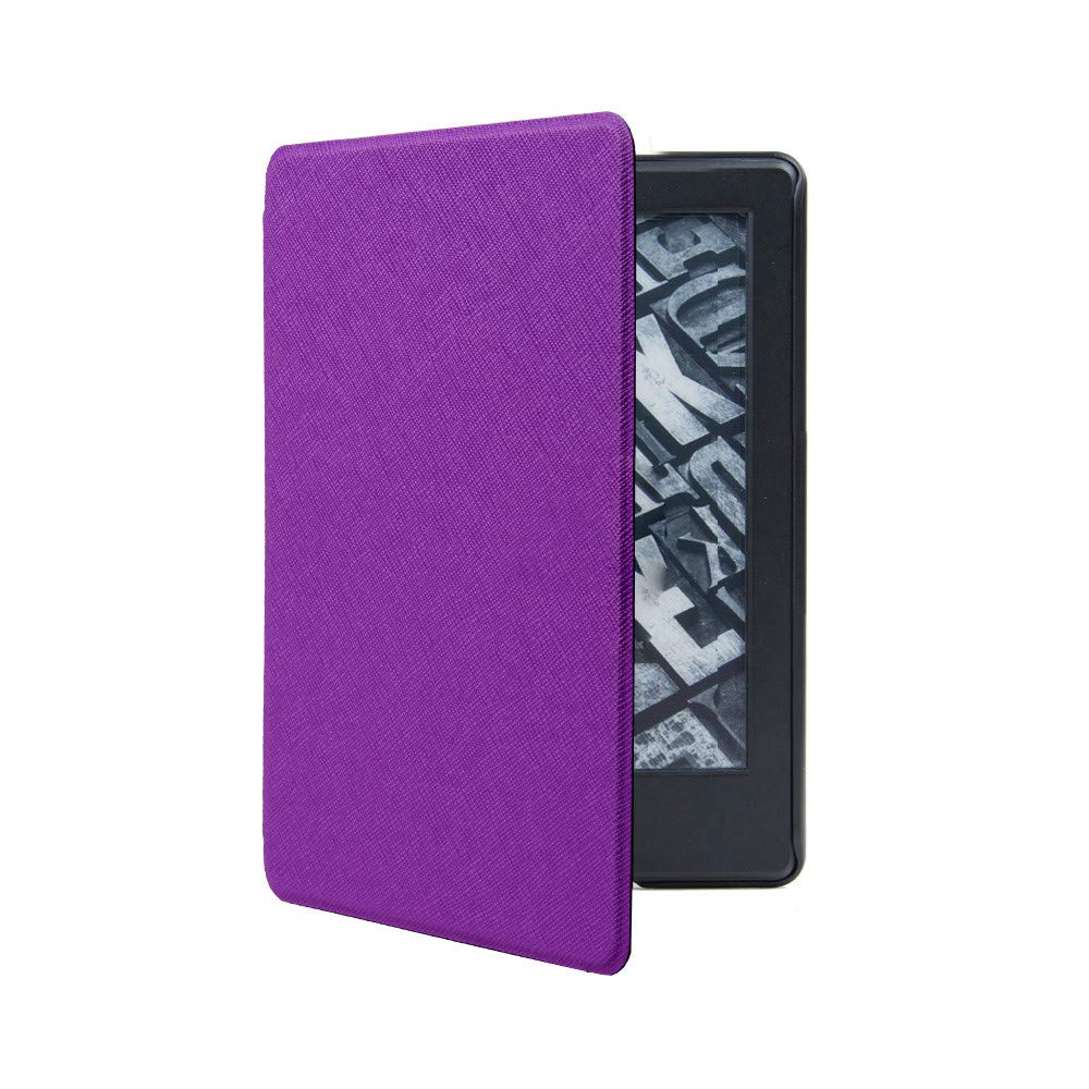 Violet Case Tablet Cover pour  Kindle Paperwhite 4 2018 Fulltime/® Ultra Mince Intelligente En Cuir Magn/étique Cas Couverture