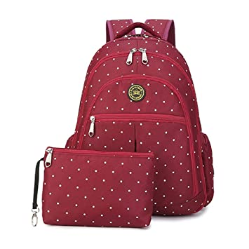 Amazon.com : YuHan Baby Diaper Travel Backpack Insulation Bag Carry Pouch Fit Stroller Red : Baby
