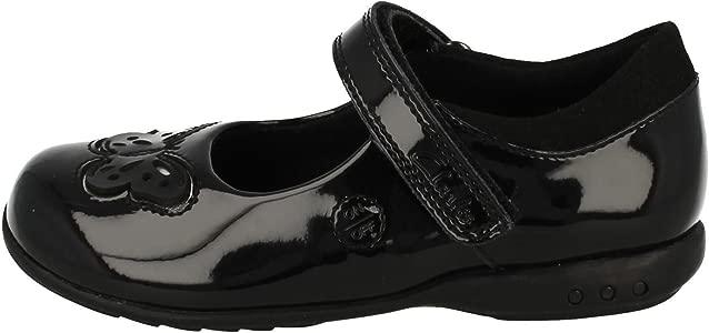 Girls Clarks Light Up School Shoes