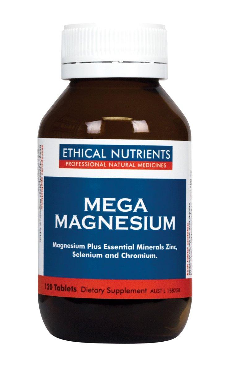 メガ マグネシウム (高速吸収&多機能マグネシウム サプリ) [海外直送品] (120錠) B01MQS3Y75   120錠