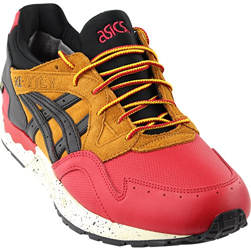 brand new 7fcee fcd0a ASICS Men's Gel-Lyte V G-Tx Red/Black Ankle-High Leather Running Shoe - 9.5M