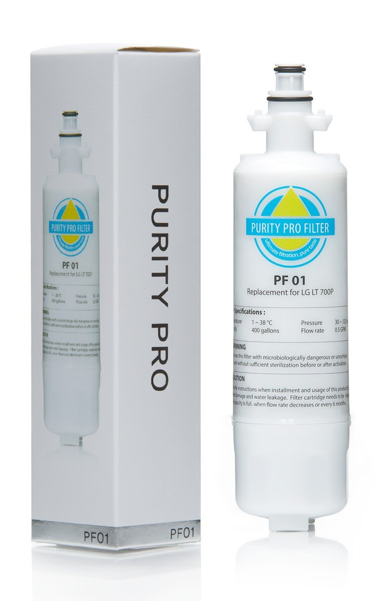 Purity Pro PF01 Replacement Filter for LG LT700P, ADQ36006101, ADQ36006102, Kenmore 46-9690 and 9690