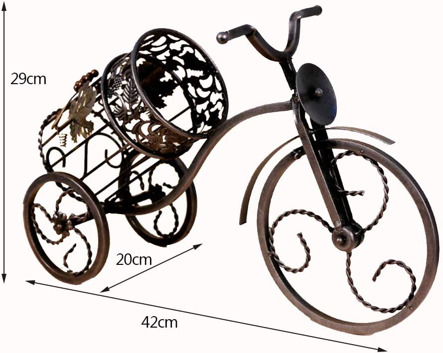 hll-036 La Bicicleta Europea de Hierro Forjado de Wine Rack Puede ...