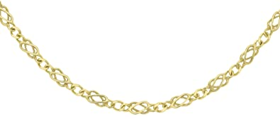 Carissima Gold 9 ct Yellow Gold Celtic Chain of 51 cm/20 inch gK3hoNqy