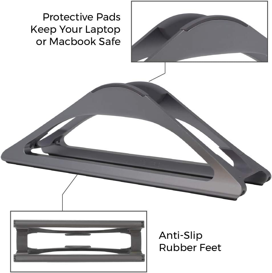 HumanCentric Vertical Laptop Stand for D…