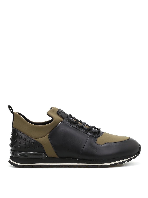 Tod's メンズ XXM0XH0V400HQ964RI ブラック 革 運動靴 B07DBTDCCZ