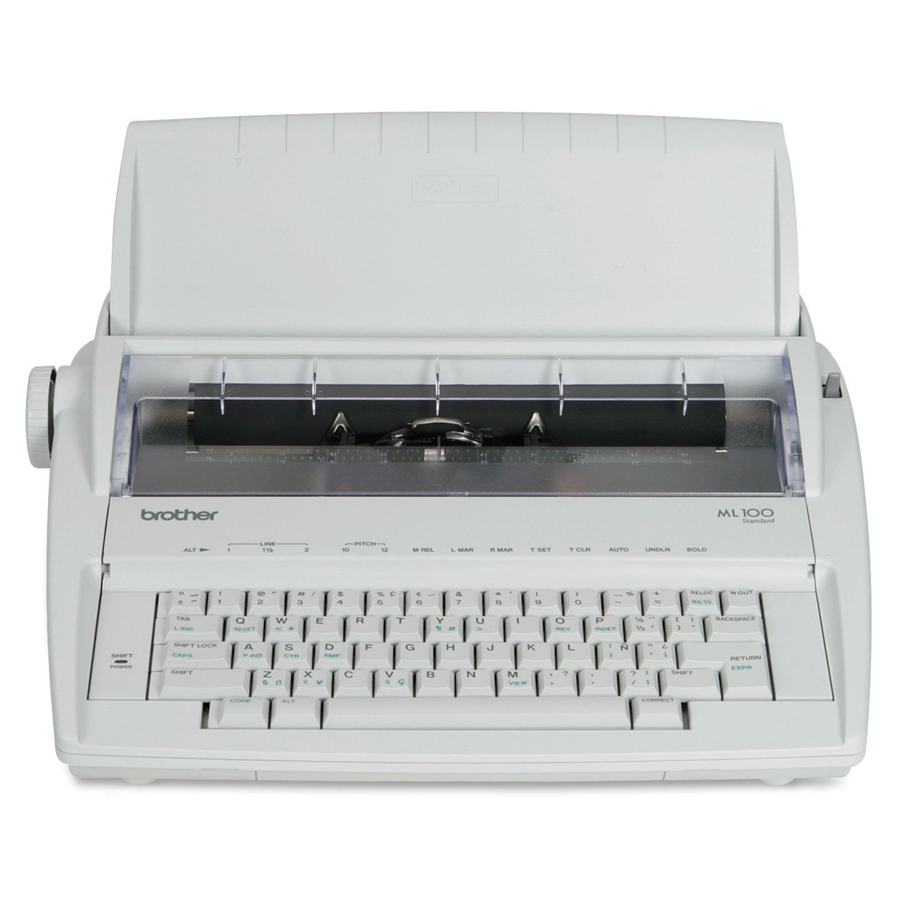 Brother ML-100 Daisy Wheel Electronic Typewriter - Retail Packaging by Brother