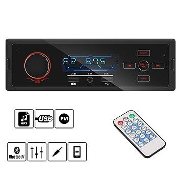 Top Bluetooth Vintage Auto Radio Mp3 Player Stereo Usb Aux Klassische Auto Stereo Audio Mit Fernbedienung Ausgezeichnete QualitäT In