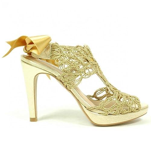 Vestir Mujer Angel DoradoAmazon De Dorado Zapatos Alarcon Para sQdtCrhx