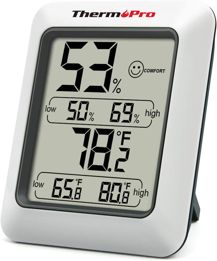 ThermoPro TP50 digitales Thermo-Hygrometer Raumklimakontrolle Raumluftüerwachtung 1