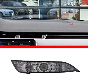 YIWANG Car Center Console Dashboard Speaker Cover Trim for Land Rover Range Rover Evoque 2019 2020 Auto Accessories