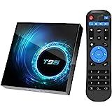 Android 10.0 TV Box, T95 Android Box 4GB RAM 64GB ROM Allwinnner H616 Quad-Core Support 2.4G/5G Dual WiFi HD 3D/6K/ Bluetooth