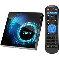 Android 10.0 TV Box, T95 Android Box 4GB RAM 64GB ROM Allwinnner H616 Quad-Core Support 2.4G/5G Dual WiFi HD 3D/6K…