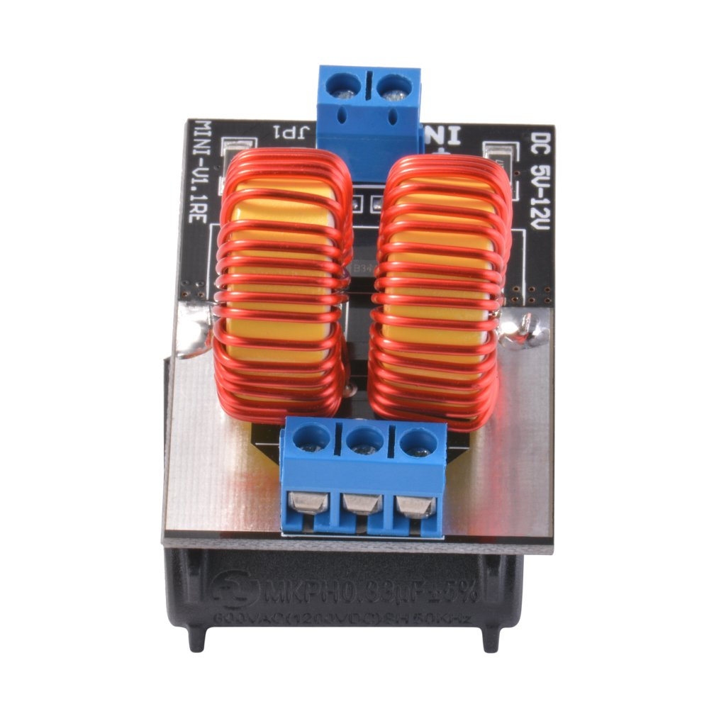 5V-12V 120W ZVS Induction Heating Power Supply Module Tesla Jacob's Ladder Drive with Heating Coil Sun3Drucker SX222