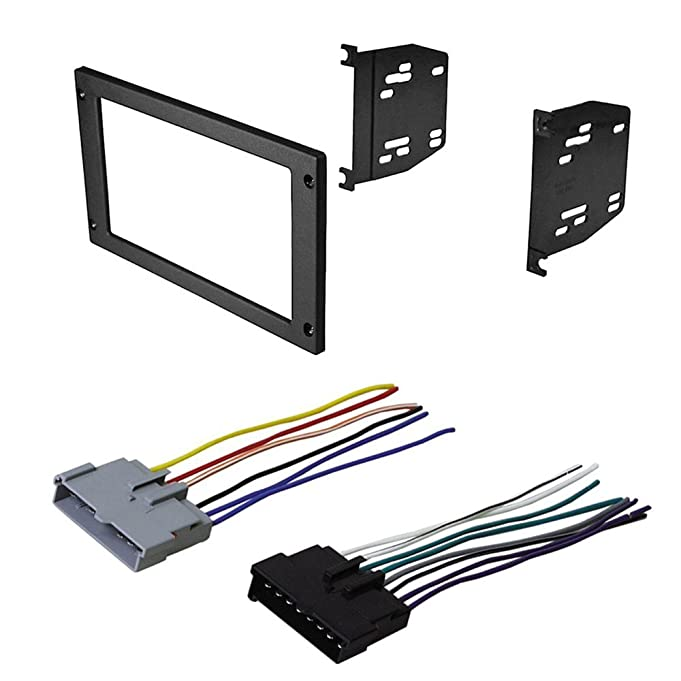 61kPO6Y0bRL._SX681_ amazon com car radio stereo radio kit dash installation mounting Wire Harness Assembly at panicattacktreatment.co