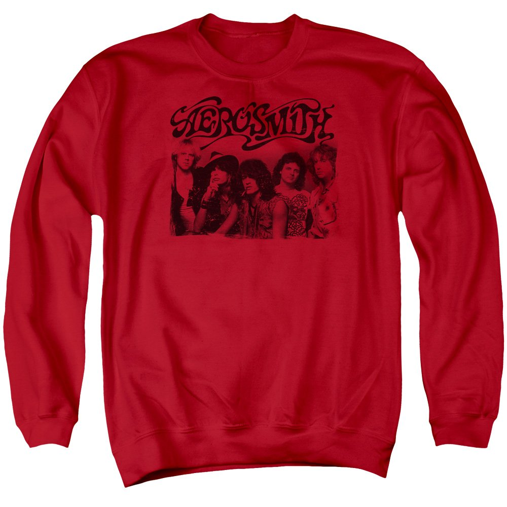 Aerosmith - Herren Old Photo Sweater
