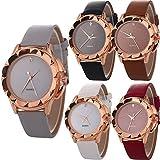 Yunanwa 5 Pack Women's Female Watches...