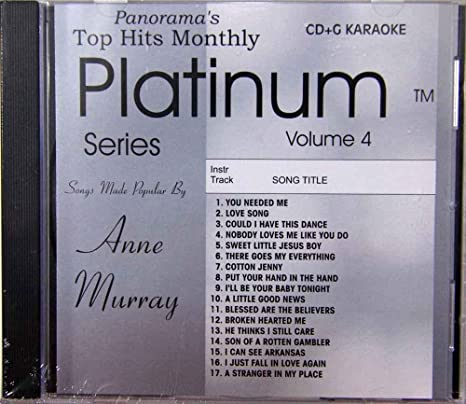 Top Hits Monthly Karaoke: The Hits of Anne Murray