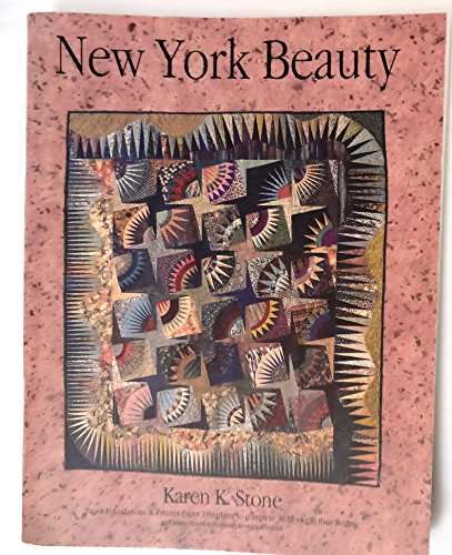 Karen Stone - New York Beauty; Paper Foundation & Freezer Paper Templates to Complete 30 Blocks